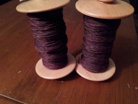Resting before plying